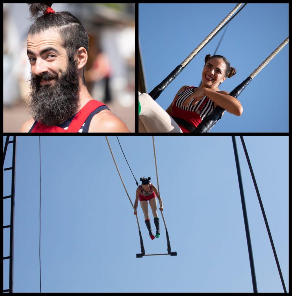 Foto acrobati